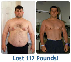Chris Lost 117 lbs!