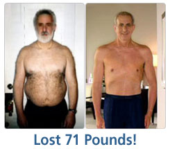 Marty Lost 71 lbs!