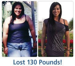 Valerie Lost 130 lbs!